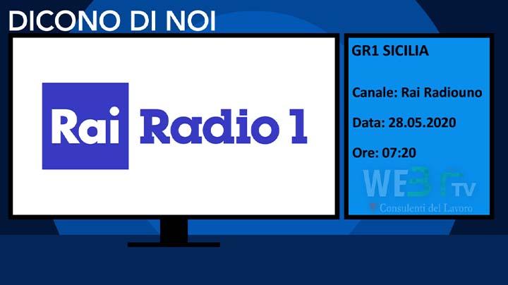 GR1 Sicilia del 28.05.2020