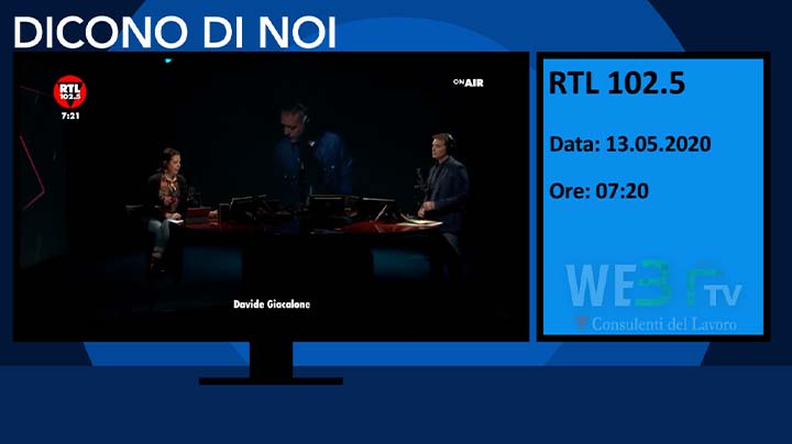 RTL 102.5 del 13.05.2020