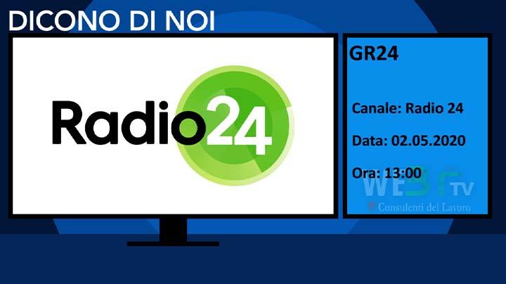 Radio 24 del 02.05.2020