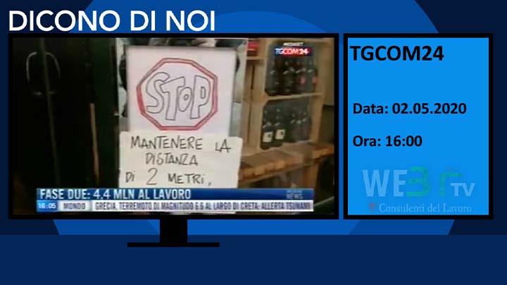 TGCOM 24 del 02.05.2020