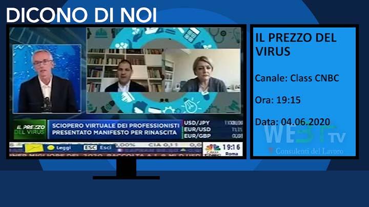Il Prezzo del Virus - Class CNBC del 04.06.2020