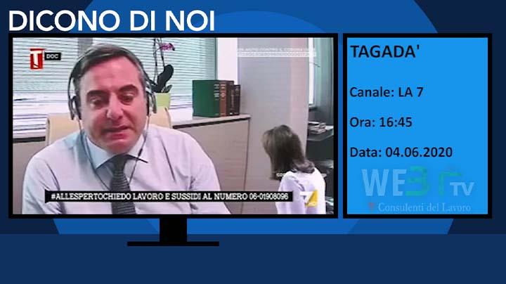 Tagadà - LA 7 del 04.06.2020