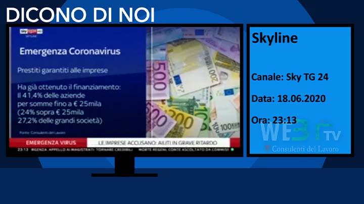 Skyline Sky TG 24 del 18.06.2020