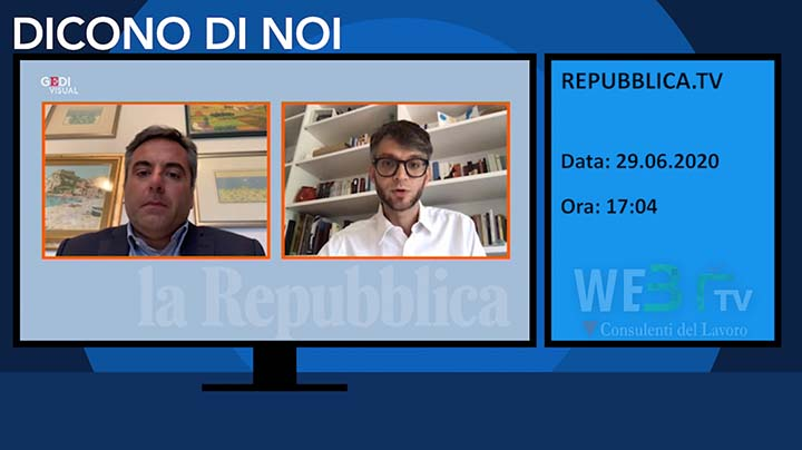 Repubblica.tv del 29.06.2020