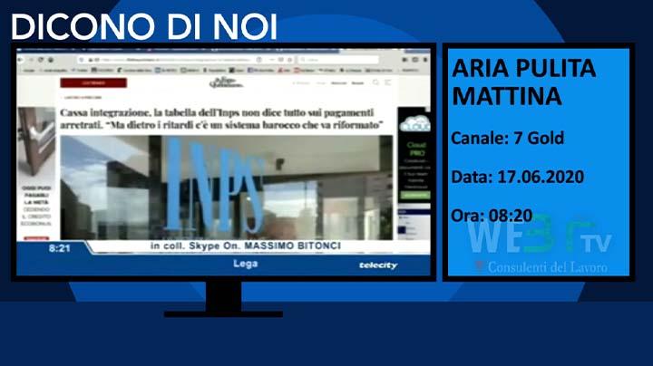 Aria pulita Mattina 7 Gold del 17.06.2020