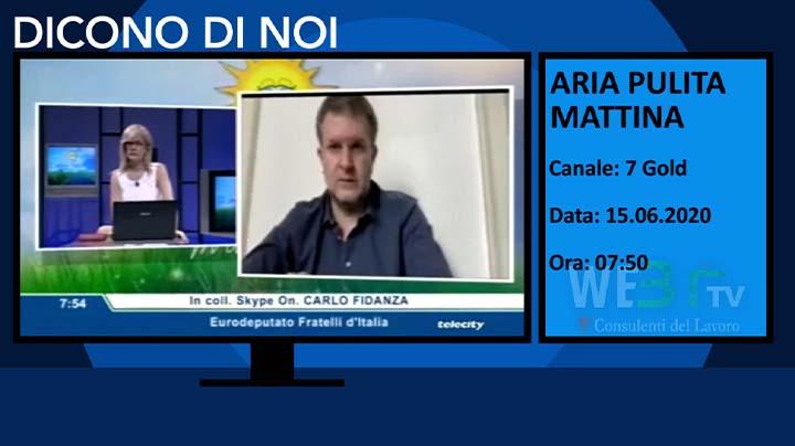 Aria Pulita Mattina del 15.06.2020