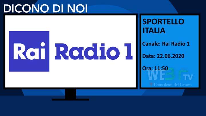 Sportello Italia del 22.06.2020