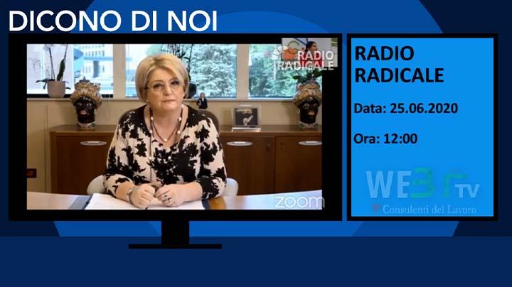 Radio Radicale del 25.06.2020