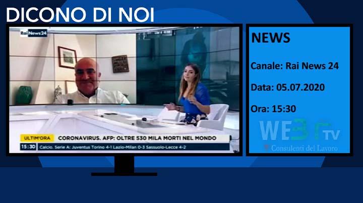RaiNews 24 del 05.07.2020 15.30