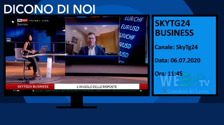 SkyTg24 del 06.07.2020