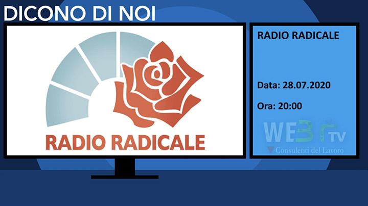Radio Radicale del 28.07.2020
