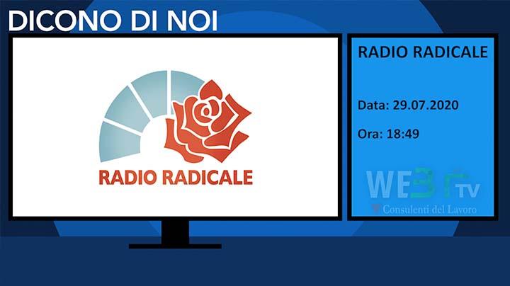 Radio Radicale del 29.07.2020