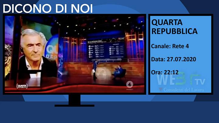 Quarta Repubblica del 27.07.2020