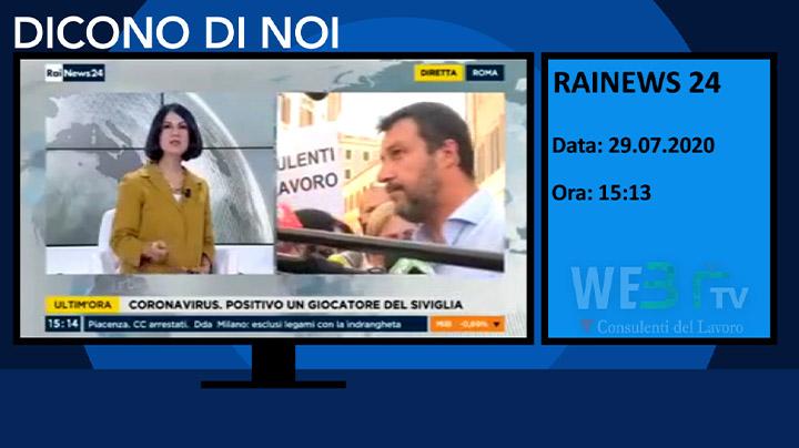 RaiNews24 del 29.07.2020 ore 15:13