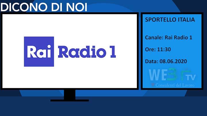 Sportello Italia del 08.06.2020
