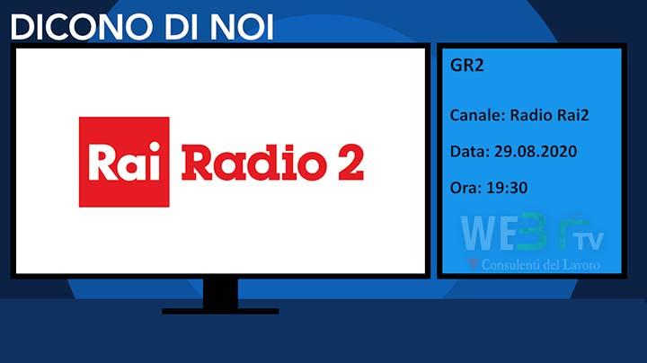 Gr2, Rai Radio2 del 29.08.2020 - Edizione delle 19.30