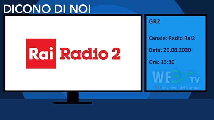Gr2, Rai Radio2 del 29.08.2020 - Edizione delle 13.30