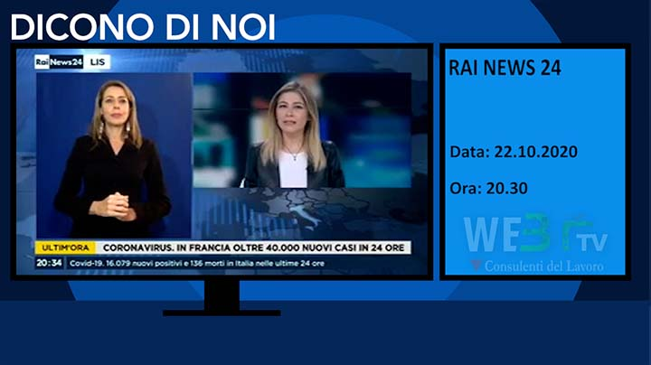 Rai News 24 del 22.10.2020 - Edizione delle 20.30