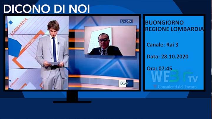 Buongiorno Regione Lombardia del 28.10.2020
