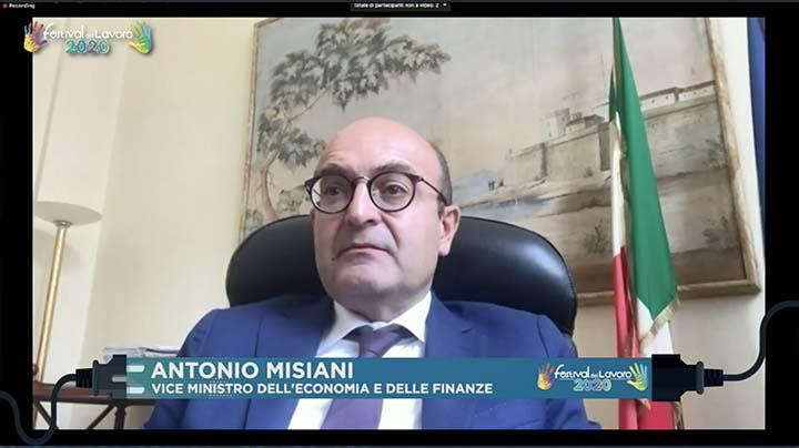 Intervento del Vice Ministro dell'Economia e delle Finanze, Antonio Misiani