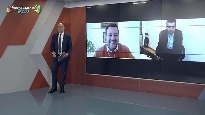 Intervento del Vicepresidente del Partito democratico Orlando e del Segretario della Lega, Salvini