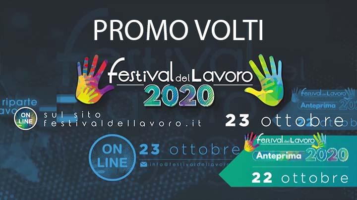 Promo volti Festival del Lavoro 2020