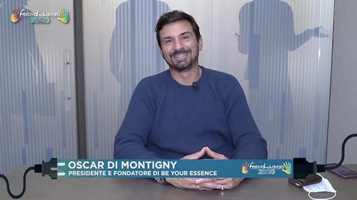 Intervento del Presidente e Fondatore di Be Your Essence, Oscar Di Montigny