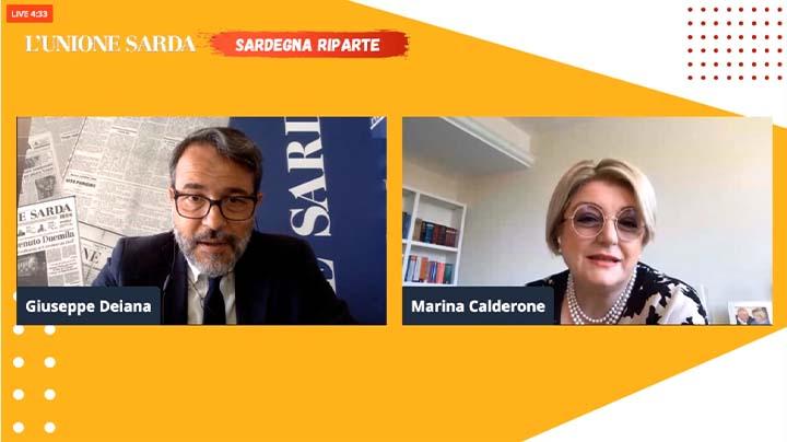 Sardegna Riparte: il webinar con la Presidente Calderone