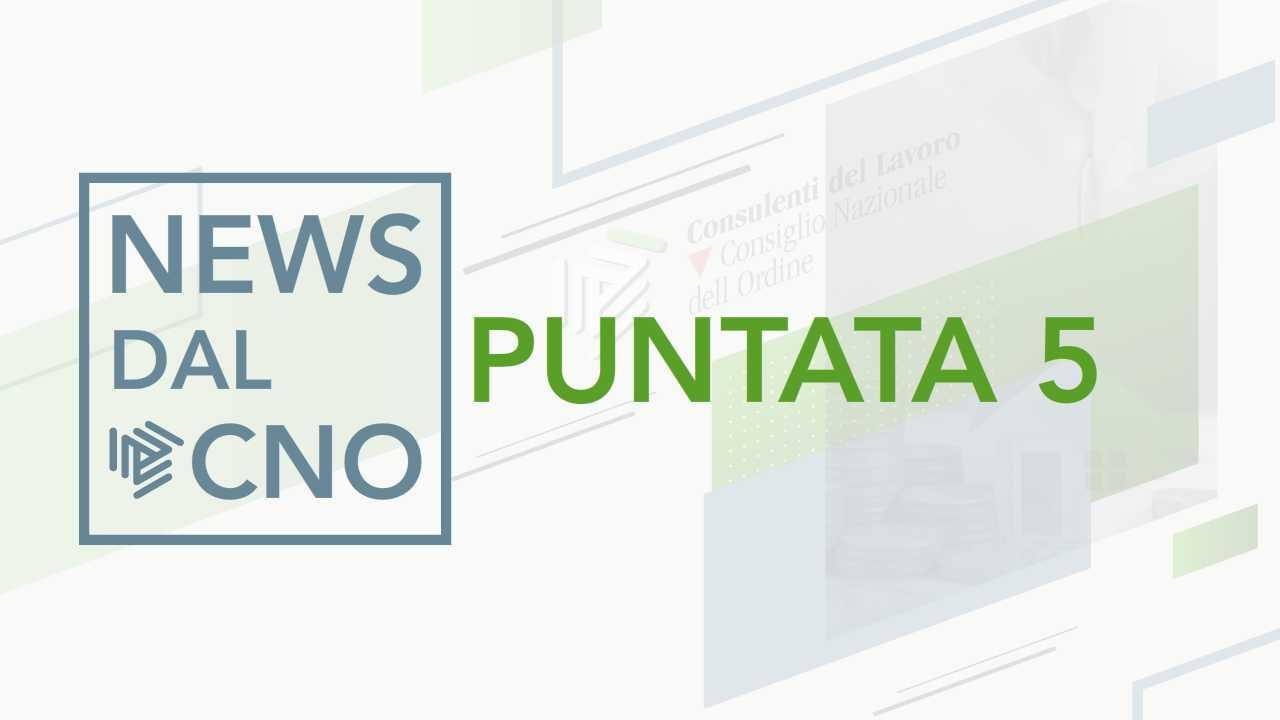 Le novità dal Dipartimento Normativo del CNO