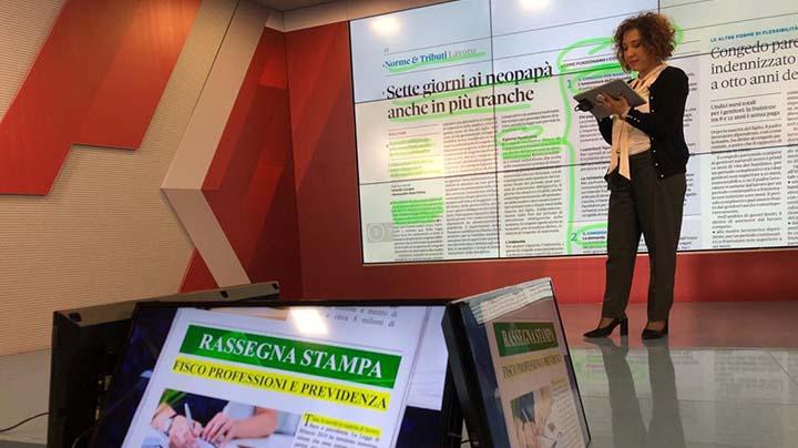 Rassegna Stampa - 20.01.2020