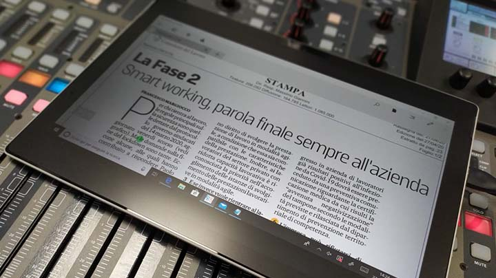 Rassegna Stampa - 27.04.2020