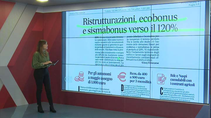 Rassegna Stampa - 04.05.2020