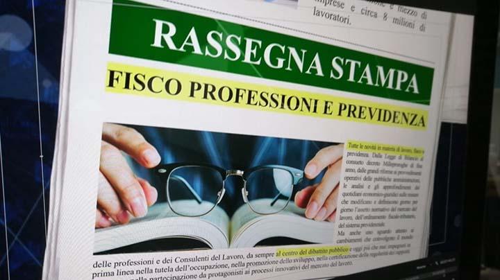 Rassegna Stampa - 08.06.2020