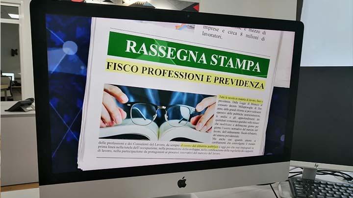 Rassegna Stampa - 11.05.2020