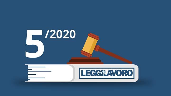 Promo Leggi di Lavoro n°5/2020