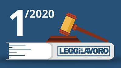 Leggi di Lavoro n°1/2020