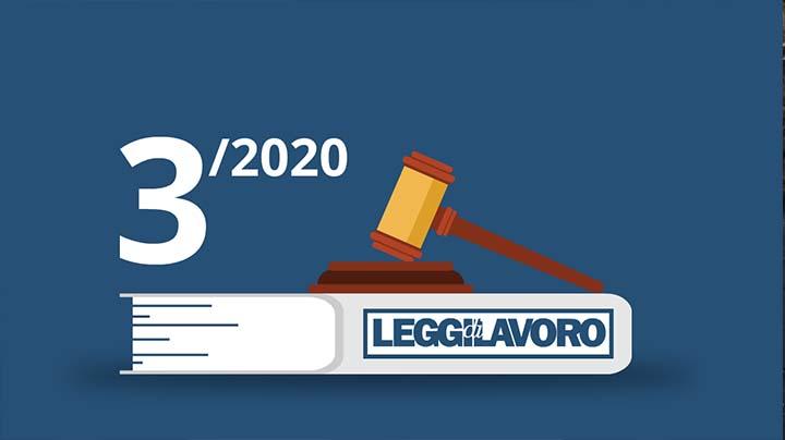 Leggi di Lavoro n°3/2020