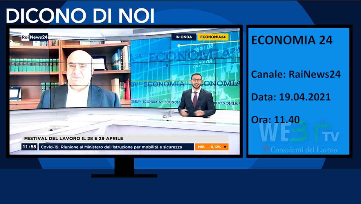 Rai News 24 del 19.04.2021