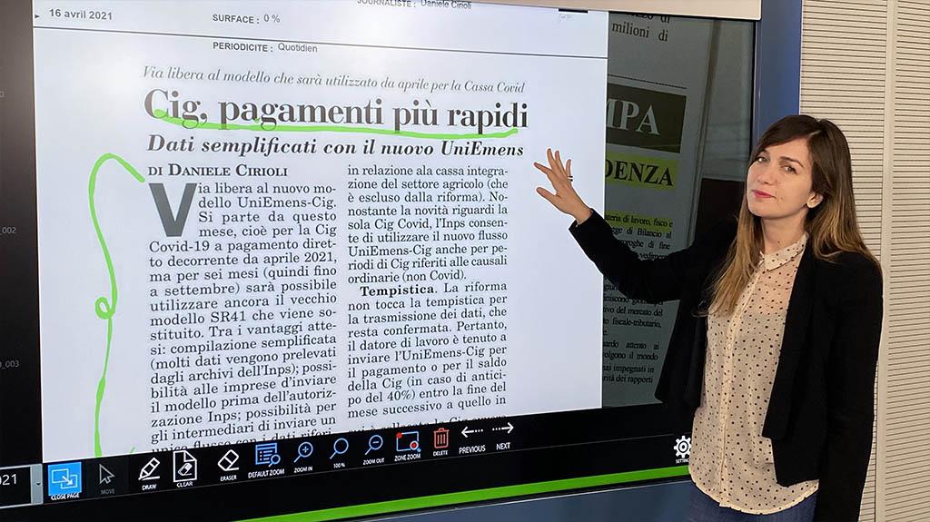 Rassegna Stampa - 16.04.2021