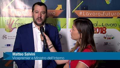Festival del lavoro 2018 - Salvini: più collaborazione con i professionisti