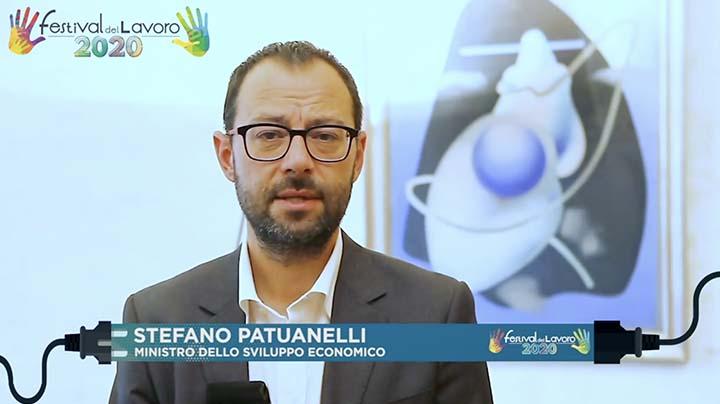 Intervento del Ministro dello Sviluppo Economico, Stefano Patuanelli