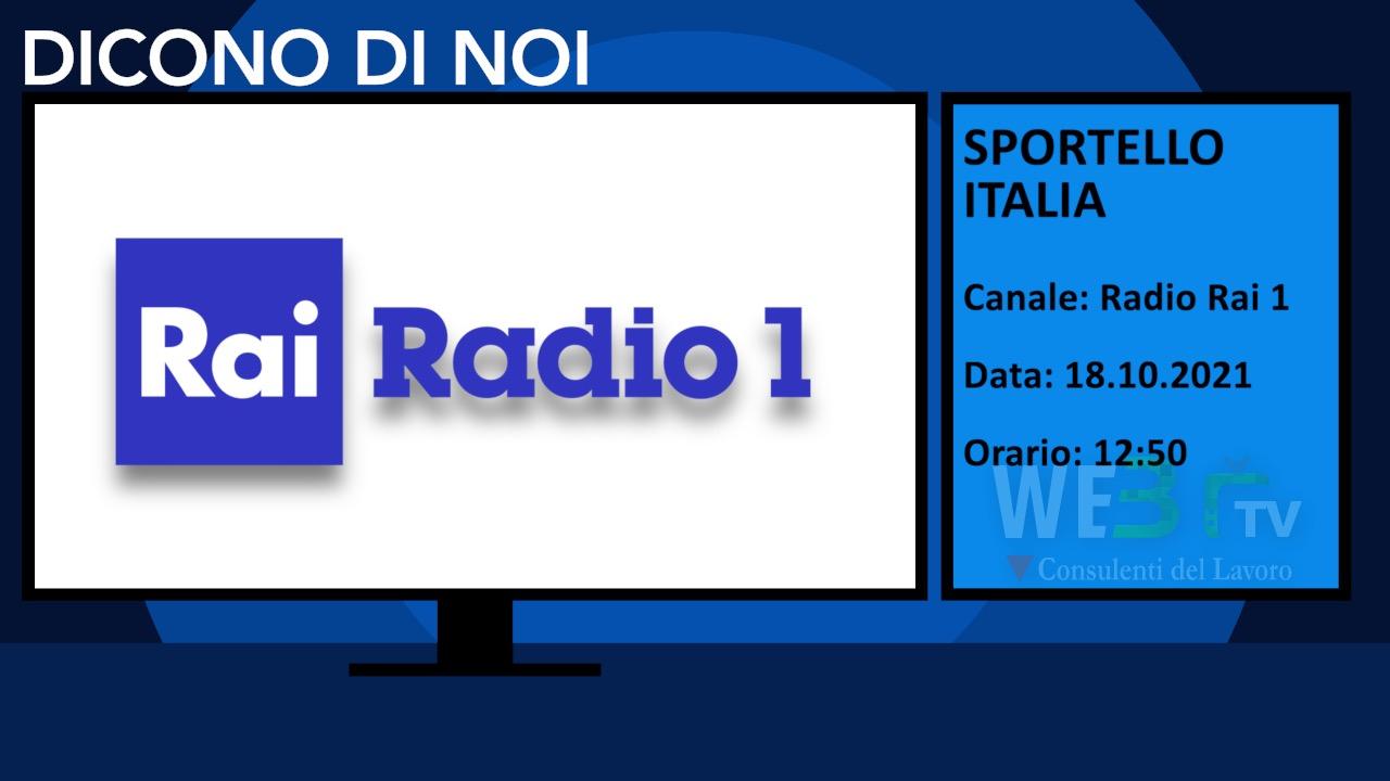 Sportello Italia del 18.10.2021