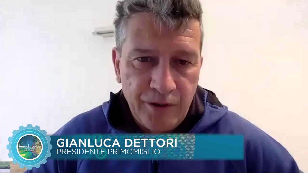 Intervento del Presidente di Primomiglio Gianluca Dettori