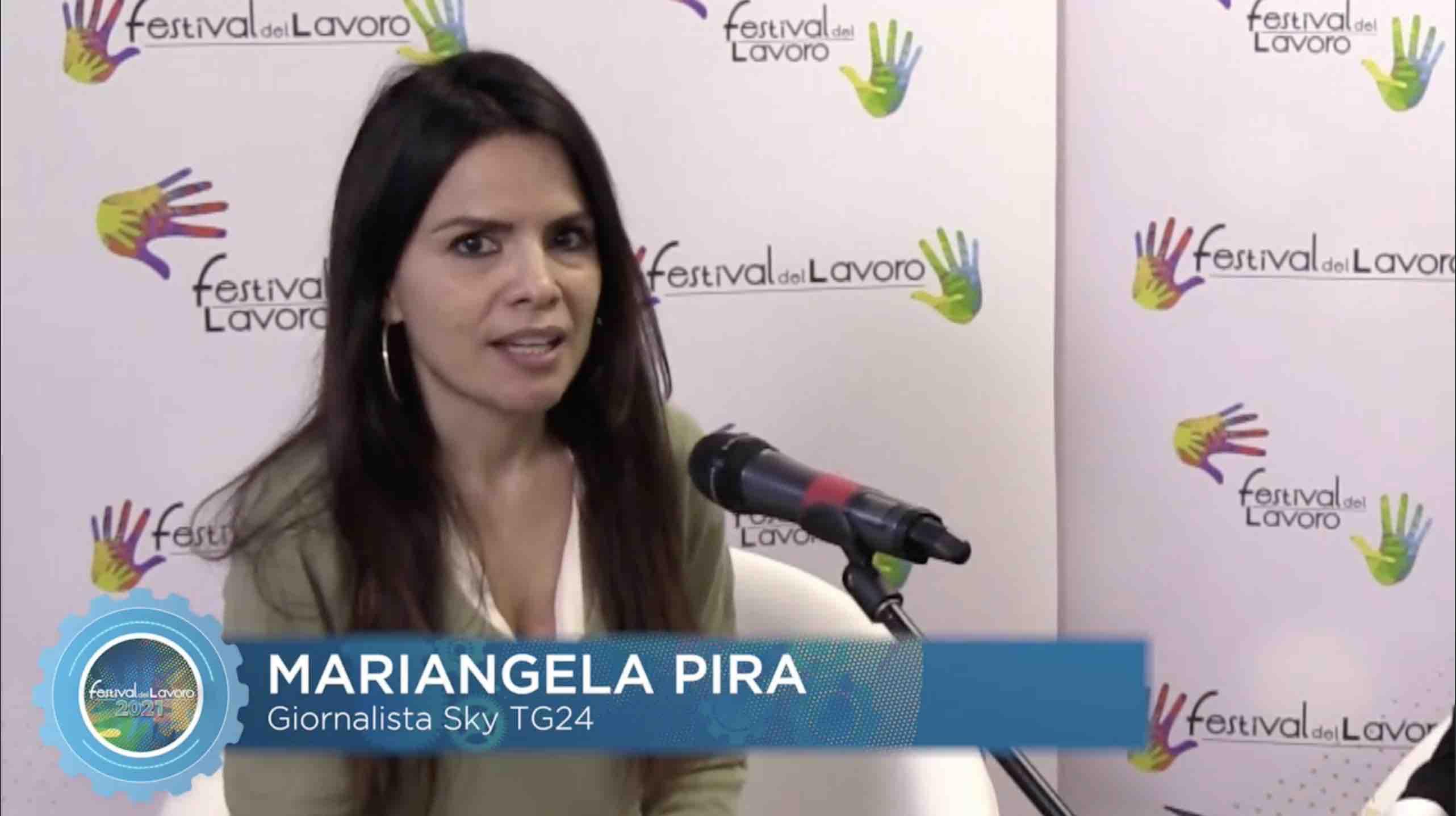Intervista a Mariangela Pira, giornalista Sky Tg24