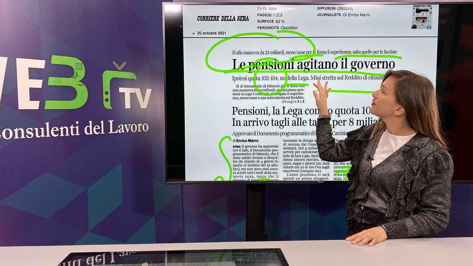 Rassegna Stampa - 20.10.2021