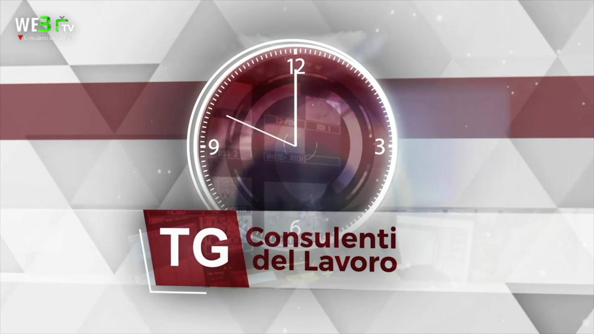 Tg dei Consulenti del Lavoro - 18.10.2021